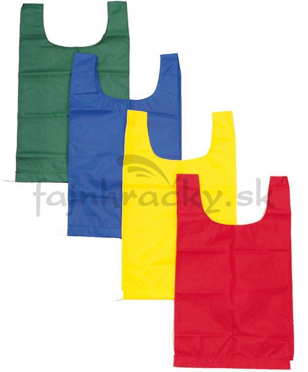 f3e16e9f7011 Rozlišovacie športové vesty - s gumou - zelená