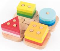 [Skladačka - Puzzle farby a tvary]