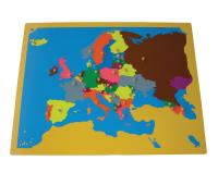 [Puzzle - mapa Európa]