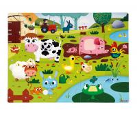 [Hmatové puzzle - Život na farme]