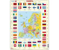 [Glóbus v puzzle - Európa - slovenská verzia]