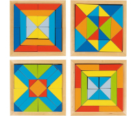 [Mozaika svet tvarov - sada 4 ks]
