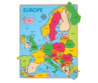[Vkladacie puzzle - Mapa Európy]