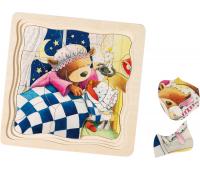 [Vrstvové puzzle - Malý medvedík]
