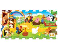 [Náučné puzzle 5 v 1 - Farma]