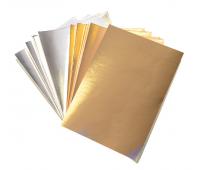 [Metalický kartón - strieborný/zlatý]