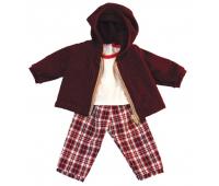[Oblečenie pre bábiky - 38 cm - Kárované nohavice, sada]