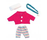 [Oblečenie pre bábiky - 21 cm - Súprava so šálom]