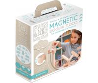 [Drevené magnetické kocky natural - 50 ks]