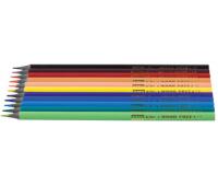 [Trojhranné bezdrevné ceruzky, 12 farieb]