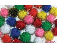 [Bambule - 100 ks, základné farby s trblietkami]