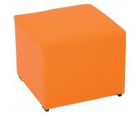 [Sedačka farebná - taburetka oranžová]