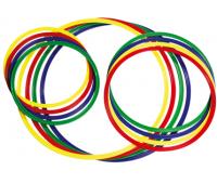 [Plastové kruhy - 4 ks, 50 cm]
