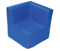 [Kresielko rohové SOFT - modré 30 cm]