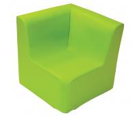 [Kresielko rohové - zelené 30 cm]