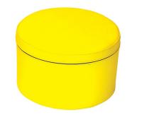 [Taburetka kruh - žltá 30 cm]