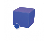 [Taburetka štvorec - modrá 35 cm]