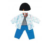 [Oblečenie pre bábiky - 38 cm - Modrá sada pre chlapca]