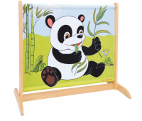 [Nízky paraván so zvieratkami - Panda / Nosorožec]