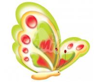 [Dekorácia Motýliky 2 ks]