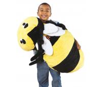 [MAXI vankúše na sedenie - Včielka (97 x 44 x 28 cm)]