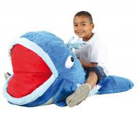 [MAXI vankúše na sedenie - Veľryba (97 x 74 x 45 cm)]