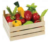[Zelenina a ovocie v prepravke]