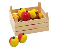 [Jablká v prepravke]