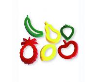 [Formičky na plastelínu - ovocie]