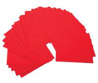 [Farebné výkresy, 225 g/m2 - červené]
