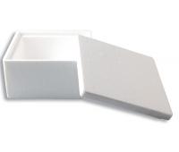 [Polystyrénová krabička Kocka (13 x 13 x 7,5 cm)]