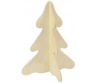 [Vyrob si darček! - Vianočný stromček 3D]
