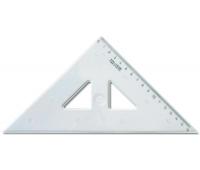 [Pravítko trojuholník s kolmicou 16 cm]