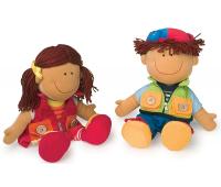 [Textilné bábiky Peťo a Paťa]