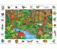 [Objavné puzzle - v lese]