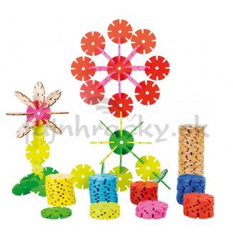 Geometrická stavebnica Kvet