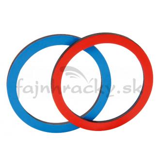 Dvojfarebné magnetické krúžky