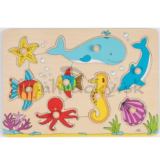 Vkladacia skladačka Podmorský svet