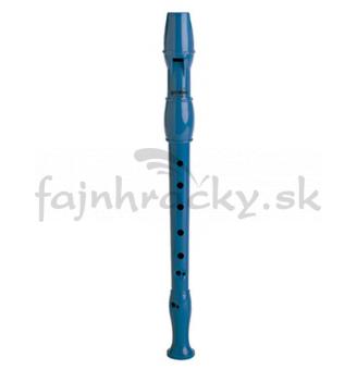 Flauta plastová modrá