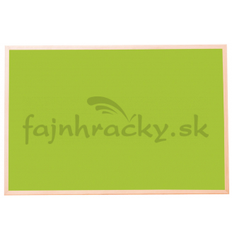 Korková tabuľa - farebná 1 - Zelená