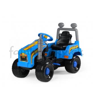 Traktor Mega - modrý