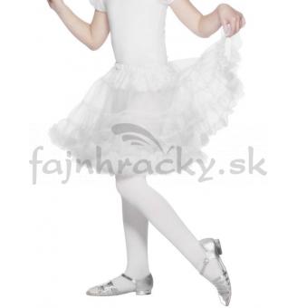 Detská suknička - biela