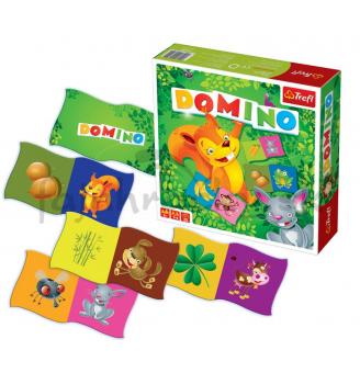 Domino - Zvieratká a ich potrava