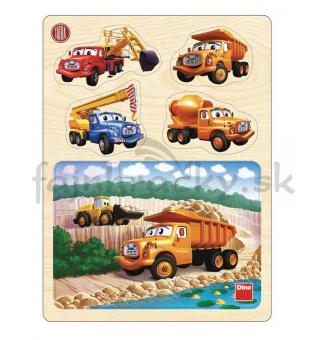 Vkladacie puzzle - Tatra 148