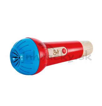 Mikrofón s ozvenou