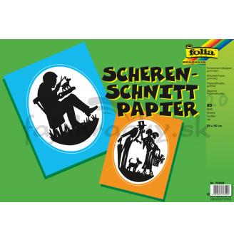 Papier na výrobu siluet