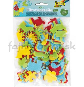 Filcová dekorácia - Detské predmety