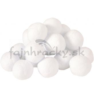 Snehové gule - Vatové loptičky