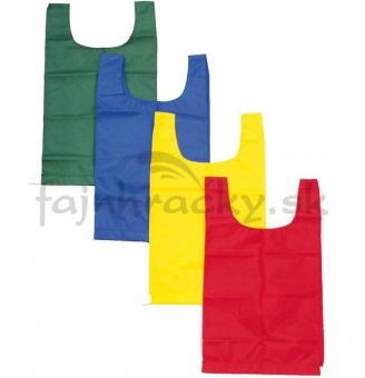 Rozlišovacie športové vesty - s gumou - červená