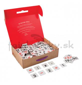 Laminované kartičky - počty